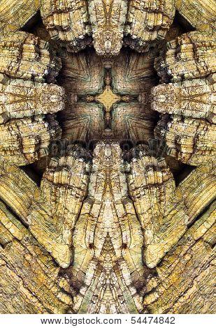 kaleidoscope cross, chert layers