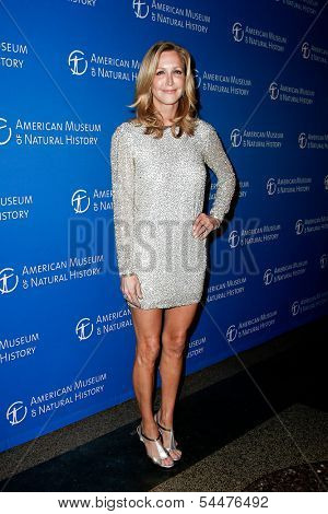 NEW YORK-NOV 21; Lifestyle anchor Lara Spencer attends the American Museum of Natural History's 2013 Museum Gala at American Museum of Natural History on November 21, 2013 in New York City.