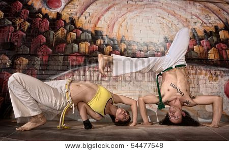 Young Capoeira Performers