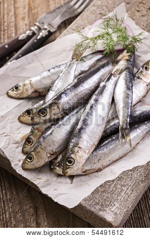 sardinha marinada