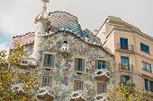 pic of gaudi barcelona  - Barcelona Spain  - JPG