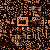 image of tribal  - Aboriginal art background  - JPG