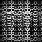 pic of eyeleteer  - Black Eyelet Fabric Pattern on White Background - JPG