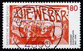Postage Stamp Germany 1987 Gerhart Hauptmann, Playwright