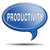 stock photo of maxim  - productivity industrial or business productive time management production costs maximizing output rate - JPG