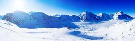 image of italian alps  - Winter mountains - JPG