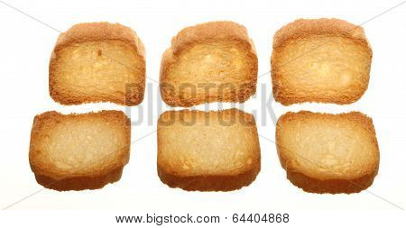 Rusks Bread Loaf Toast Biscuits, Diet Food