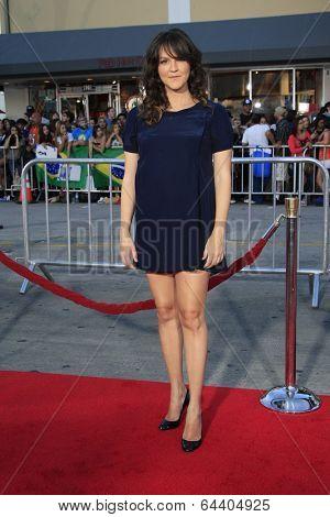 LOS ANGELES - APR 28:  Carla Gallo at the