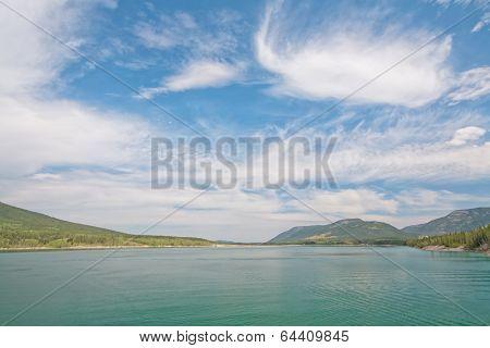 Barrier Lake Landscape