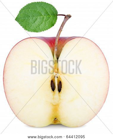 Cut Half An Apple