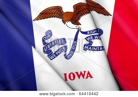 Flag Of Iowa (usa)