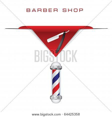 Hairdresser Old Style Razor