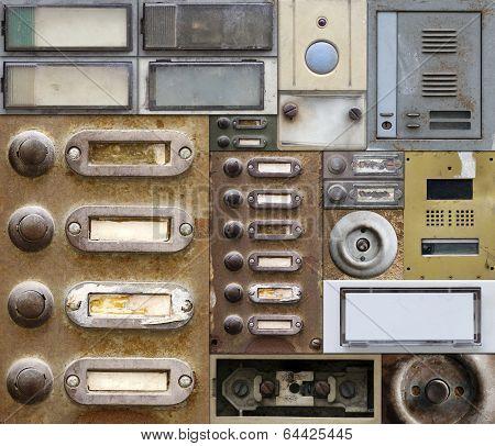 Old And Broken Doorbells