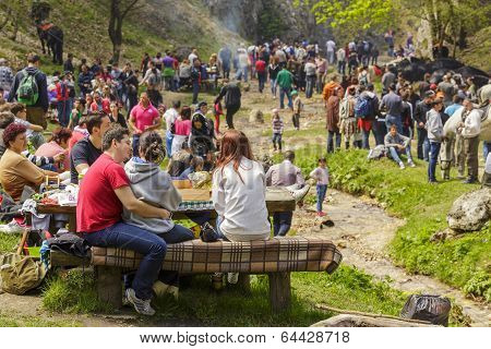 People Picnicking