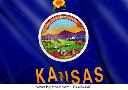 Flag Of Kansas (usa)