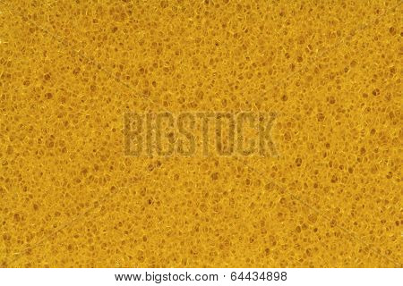 Sponge, Porouse Foam Texture Background, Bubble Macro Of Fungous Spong Bast Fiber
