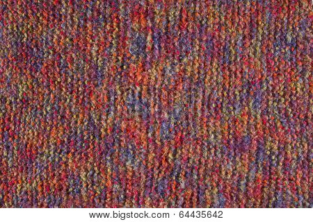 Woolen Texture Background, Knitted Wool Fabric, Hairy Fluffy Textile