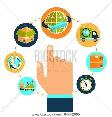 Logistic hand concept