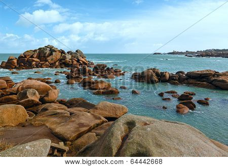 Ploumanach Coast View (brittany, France)