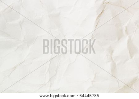 Bright Crumpled Paper