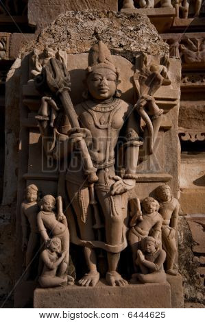 Indian Temple Carving