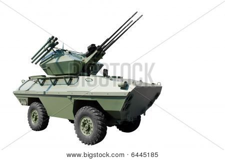 Anti Aircraft Armored Vehicle
