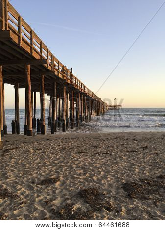 Wooden Pier, Ventura, CA