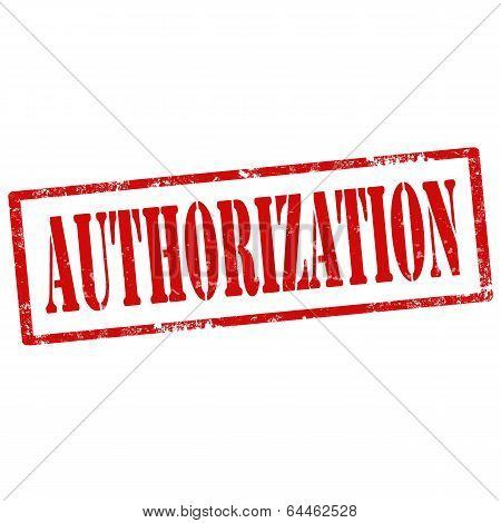 Authorization-stamp