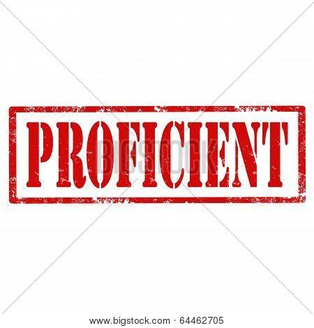 Proficient-stamp
