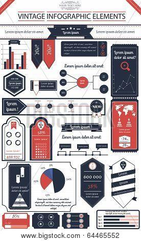 Vintage infographics