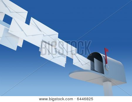 Mailbox And Envelopes