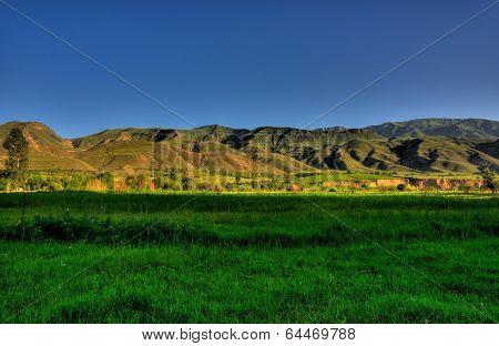 Vayk hills
