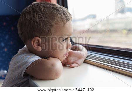 Child On Train