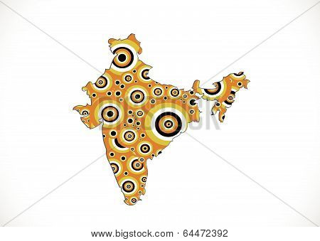 Map of India idea design