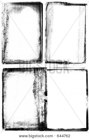 Grunge Photographic Frames