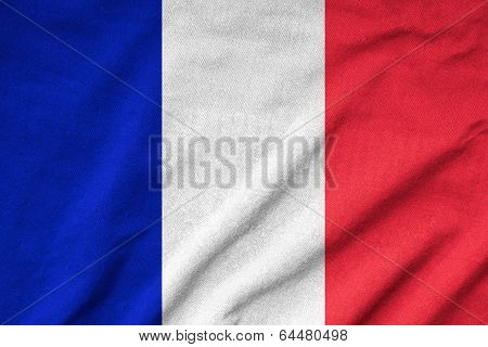 Ruffled France Flag