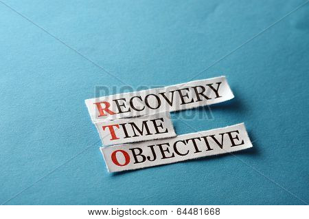 Rto Recovery Time Management