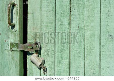 Closed Door Background