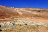 image of biogas  - The solfataras and fumaroles fields Namaskard - JPG