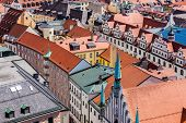 stock photo of munich residence  - Aerial view of Munich cityscape - JPG