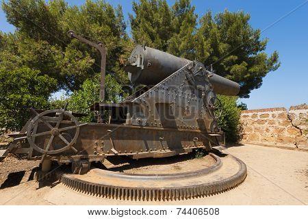 Old Cannon Near Montjuic Castle - Barcelona