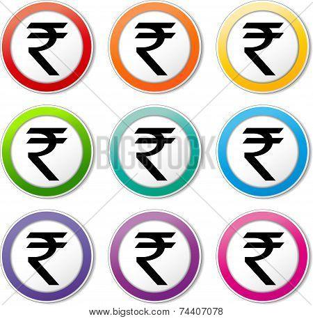 Rupee Icons