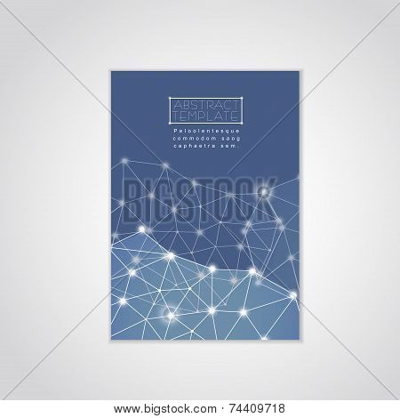 Soft Geometric Background Design For Poster Template