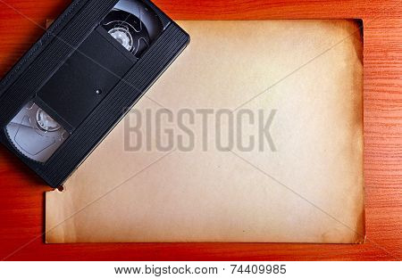 Video Tape On The Board