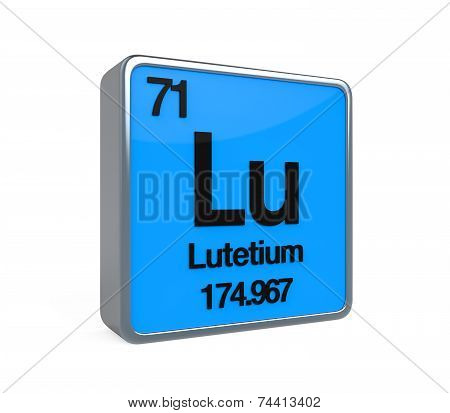 Lutetium Element Periodic Table
