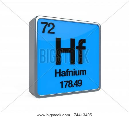 Hafnium Element Periodic Table