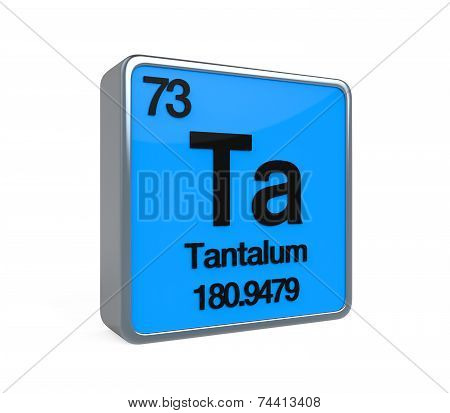 Tantalum Element Periodic Table