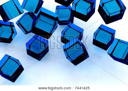 Blue Blocks.