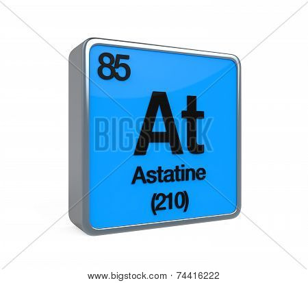 Astatine Element Periodic Table