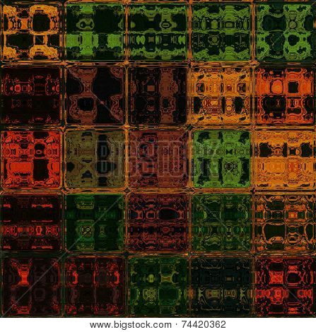 Translucent glass bricks